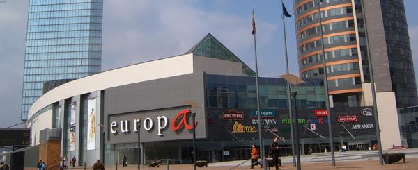 Торговый центр Europa