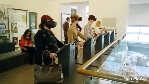 Историю Дворца правителей можно посмотреть в 3D формате