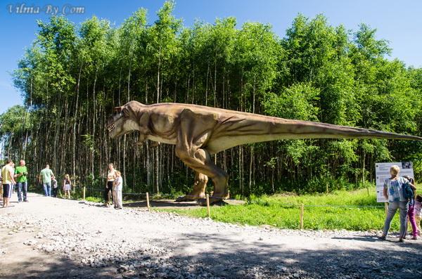 Парк динозавров в Радайляй.