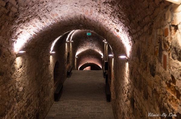 Тоннель в артиллерийскую галерею