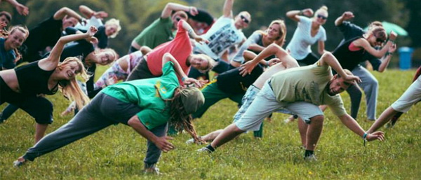 Бесплатные уроки капоэйра в парке Вингис