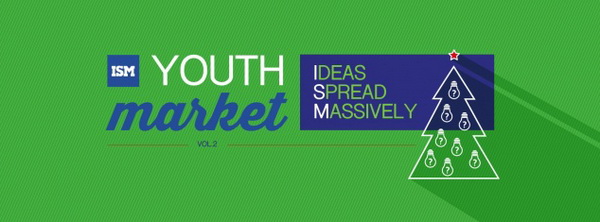 "Рождественская ярмарка ""YOUTH MARKET, VOL. 2: IDEAS SPREAD MASSIVELY"""