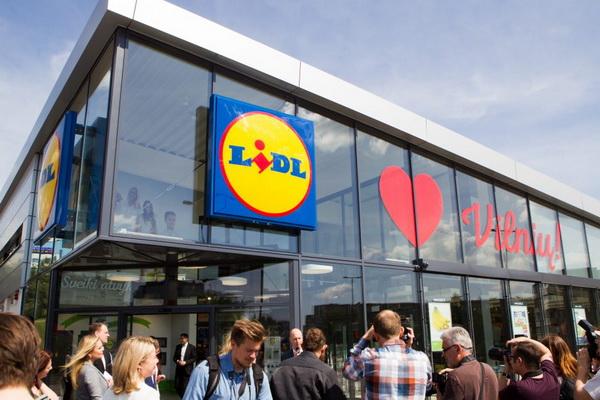 Первые магазины Lidl в Литве открылись в 2016 г.