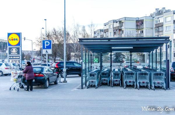 Магазины сети Lidl в Литве