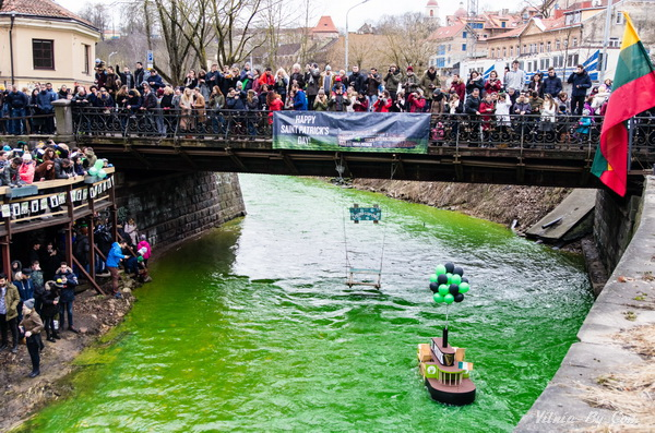 Зеленые воды Вильняле