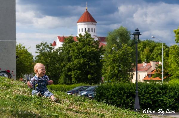В Вильнюс можно смело отправляться с ребенком